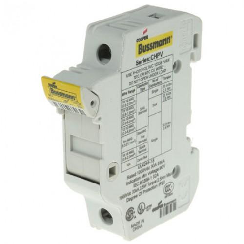 bussmann chpv1u touch safe fuse holder res supply