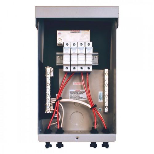 solar combiner box wiring diagram: midnite solar mnpv4-mc4 pre-wired combiner  box