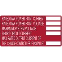 Hellermann 596-00253 Label