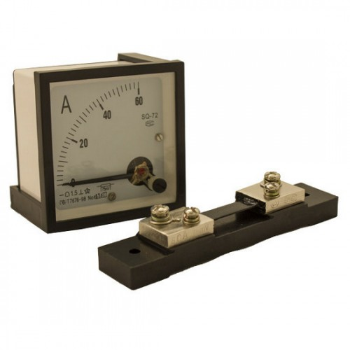 Analog Power Meter : Adc analog amp meter res supply