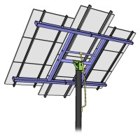MT Solar 8-TOP-10-72C Black TPM Complete Kit