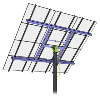 MT Solar 8-TOP-12-72C Black TPM Complete Kit