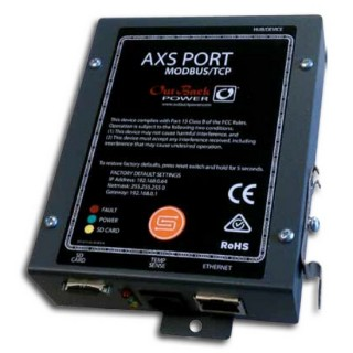 OutBack AXS Port-Modbus Interface