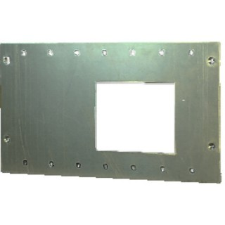 OutBack FW-MB3-F FLEXware MATE3 Flat Mount Wall Plate