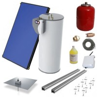 Heliodyne HPAS2-406GF65Z1 Solar Hot Water System Kit
