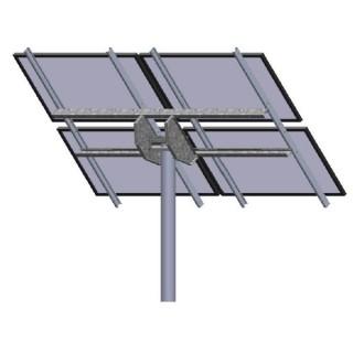 Tamarack Solar LTP-LCR/090 Top of Pole Mount