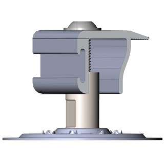 S-5! PV Kit 2.0 EdgeGrab Bonding and Mounting Universal End Clamp