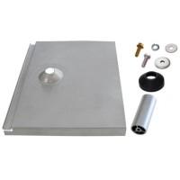 Quick Mount PV QMTR-F3.25-A-12 (QMTR-F3.25 A 1) Tile Replacement Flashing