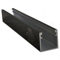 ProSolar R-168BLACK Standard Support Rail
